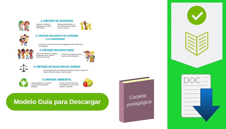 descargar carpeta pedagógica primaria y secundaria