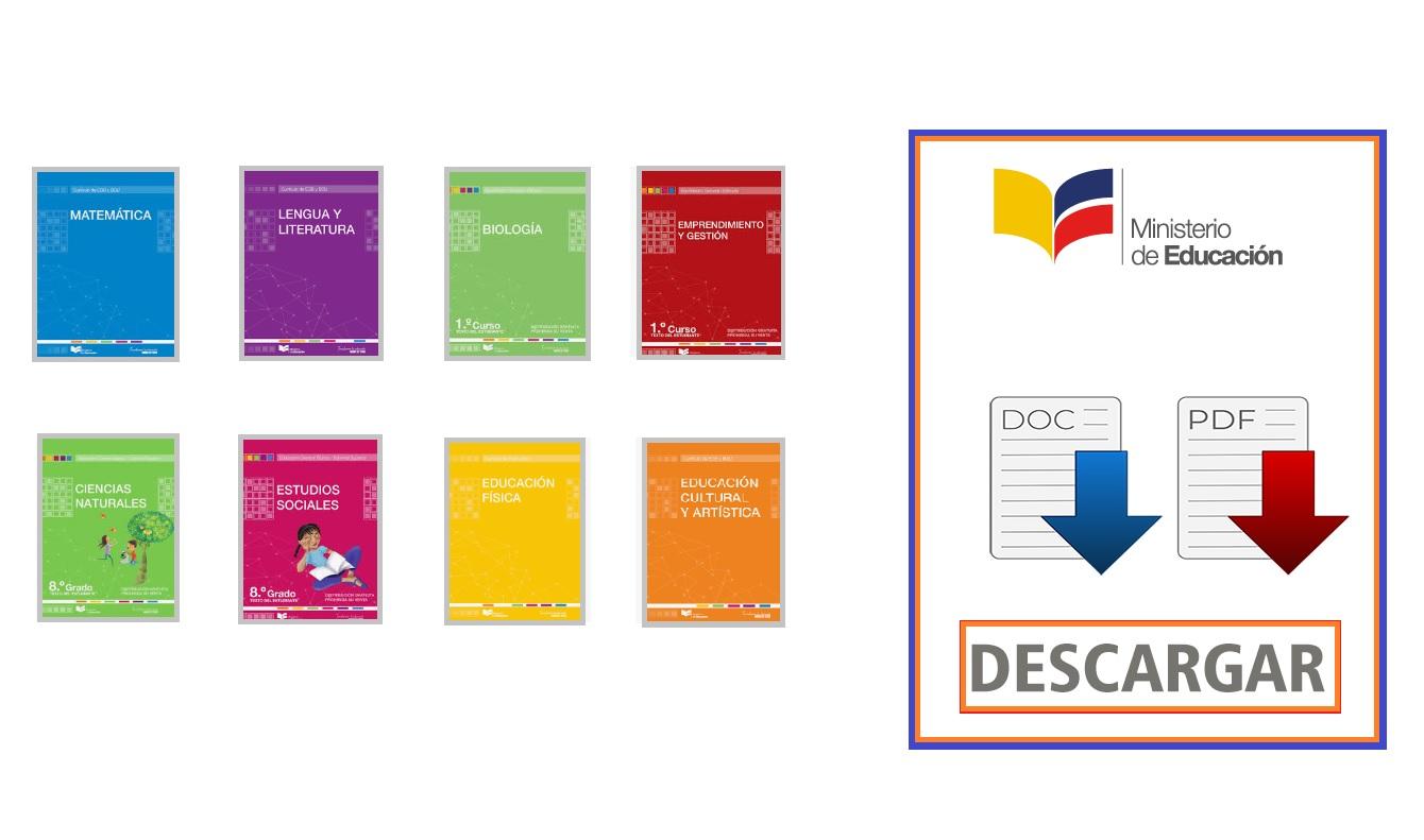 libros del ministerio de educacion
