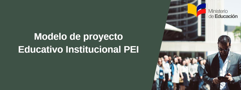 modelo educativo institucional