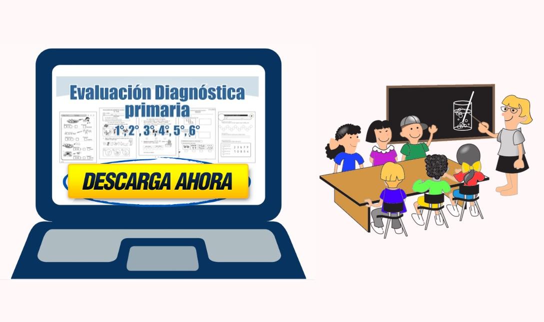 evaluación diagnostica para primaria