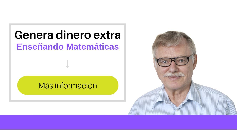 ganar dinero enseñando matemáticas