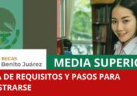 Registro beca Benito Juárez 2021